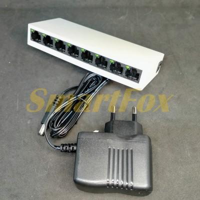 Свитч LAN Pix-Link LV-SW08 на 8 портов