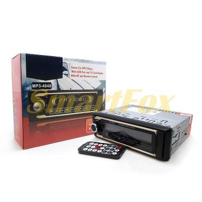 Автомагнитола MP3-4048 4 дюйма с еврофишкой