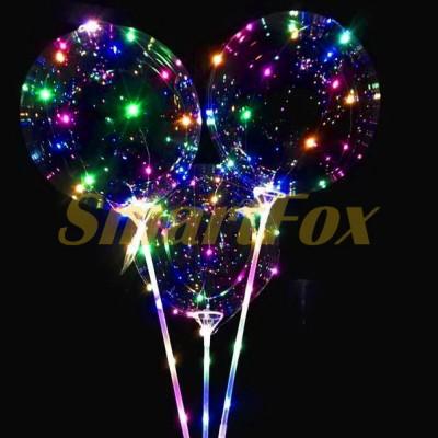 Светодиодный воздушный шар BOBO (заказ от 10штук) (без возврата, без обмена)