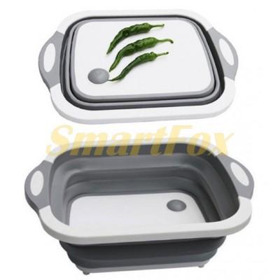 Складная разделочная доска для мытья и резки овощей DL132