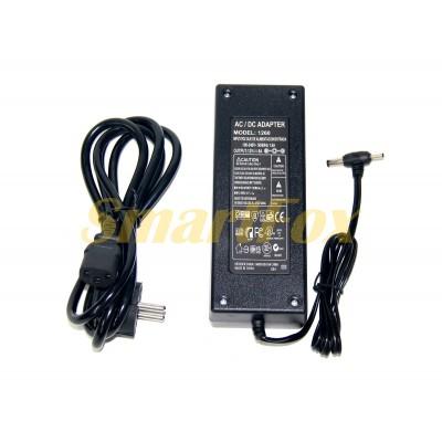 Блок питания 12V 6A с 2-я разъемами 5.5мм и 3.5мм+кабель от сети ACS