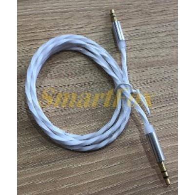 Кабель аудио 3,5 мм силиконовый (1 м)
