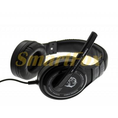 Наушники накладные с микрофоном игровые CANLEEN CT-990