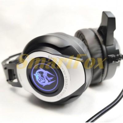 Наушники накладные с микрофоном игровые CANLEEN K12 USB