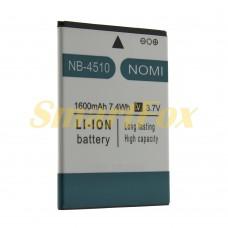 Аккумулятор AAAA-Class Nomi NB-4510 1600 mAh