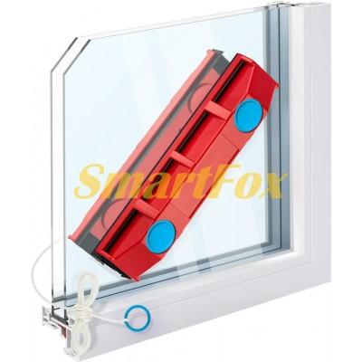 Магнитная щётка для мойки окон AM-402
