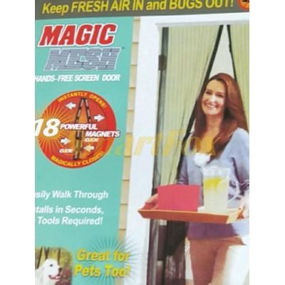 Москитная сетка-шторка на магнитах Magic Mash
