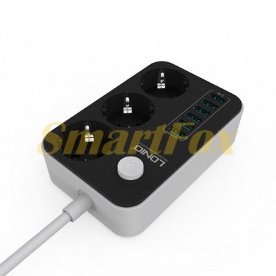 Сетевой фильтр LDNIO 220+USB SE 3631