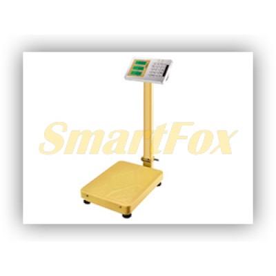 Весы электронные торговые BITEK YZ-909B-G5S-300KG-4252 300кг (42х52см) 4В Gold
