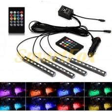 Автомобильная подсветка в салон SL-122818LED водонепроницаемая светодиодная (18 LED)