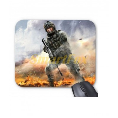 Коврик для мышки F-3 Солдаты (18х22)