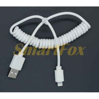 Кабель USB/Lightning пружина