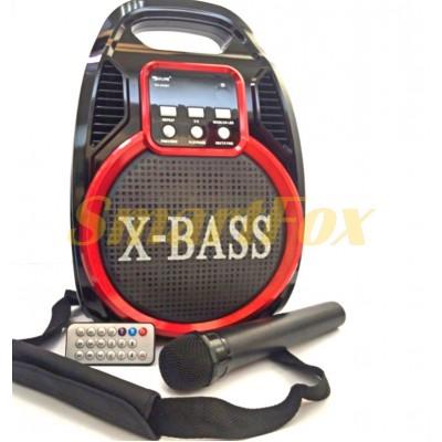 Портативная колонка Bluetooth GOLON RX-820BT+микрофон
