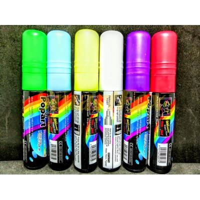 Маркер флуоресцентный для рисования на LED-доске 10 мм (цена за 1шт.,в упаковке 6шт.)