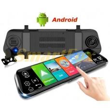 Авторегистратор-зеркало +GPS-навигатор Android M902