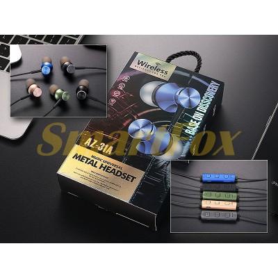 Наушники беспроводные Bluetooth с микрофоном AZ-31A-BT