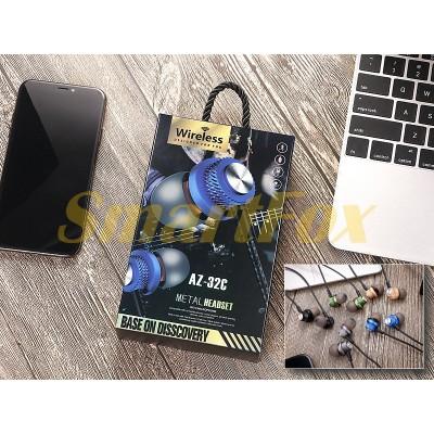 Наушники беспроводные Bluetooth с микрофоном AZ-32C-BT