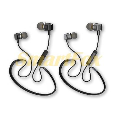 Наушники беспроводные Bluetooth с микрофоном магнит AZ-33A-BT