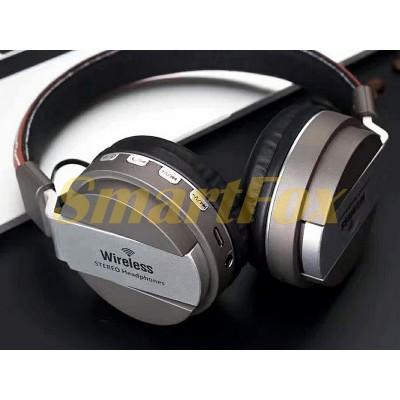 Наушники беспроводные Bluetooth AZ-03-BT (SD+FM)