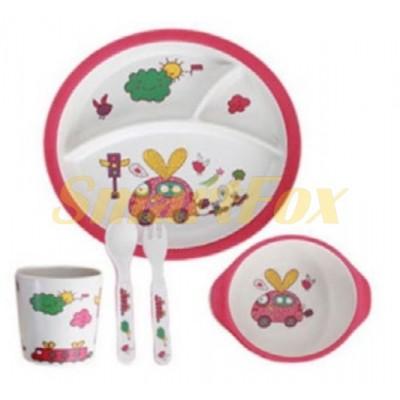 Набор детской посуды (бамбуковое волокно) SL-246-42