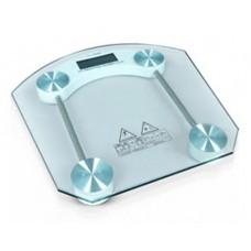 Весы электронные напольные бытовые стеклянные квадратные JKC-2