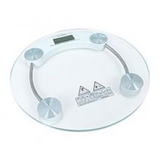 Весы электронные напольные бытовые стеклянные круглые JKC-1
