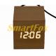 Настольные часы VST-869-6 с белой подсветкой в виде деревянного бруска