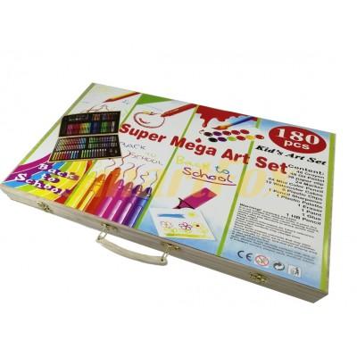 Набор для рисования 180 предметов DL126