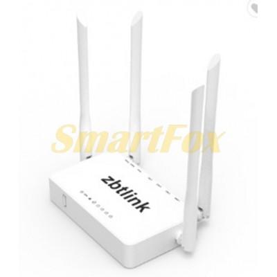 Роутер Wi-Fi WE3326 2.4GHz 300 Mbps (4 внешних антенны, 4LAN+1WAN+USB 2.0 port)