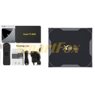 Приставка Smart TV Box X96MAX S905X2 4+64 Android 9.0 2.4GHz+5GHz+BT