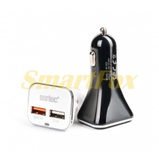 АЗУ 2USB c microUSB SERTEC ST-223 BLACK/WHITE
