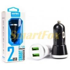 АЗУ 2USB для IPHONE 5 SERTEC ST-211 BLACK/WHITE