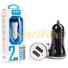 АЗУ 2USB SERTEC ST-216 BLACK/WHITE