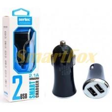 АЗУ 2USB для IPHONE 5 SERTEC ST-218 BLACK/WHITE