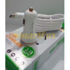 АЗУ USB C208 + кабель USB/microUSB