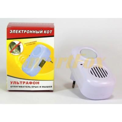 Ультрафон-отпугиватель мышей и крыс Электронный Кот