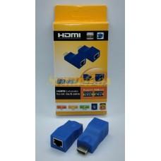 Адаптер HDMI/RJ45 4K 3D HDMI 2.0 30M