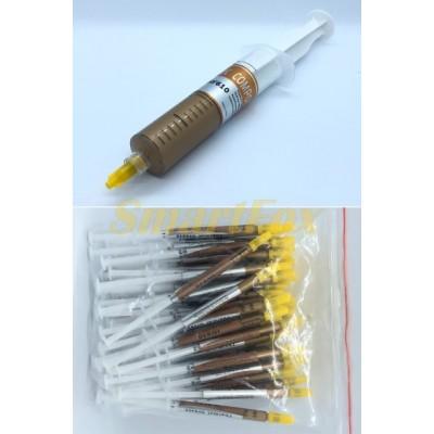 Термопаста желтая шприц большой (упаковка 5 шт.)