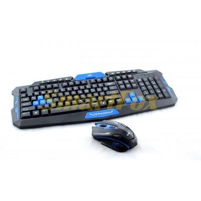 Клавиатура HK8100 профессиональная игровая радио+мышка