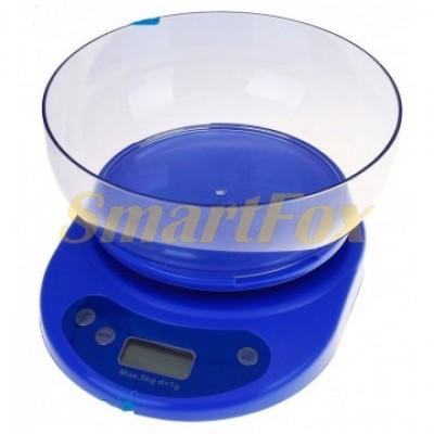 Весы кухонные цифровые KE-1 с чашей (0,01гр-5 кг)
