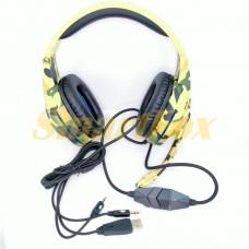 Наушники накладные с микрофоном G-305 KOMS игровые
