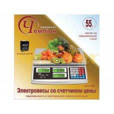 Весы электронные Чемпiон CH-701 (до 55кг)