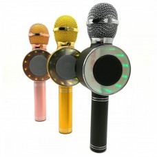 Микрофон караоке с подсветкой WS668
