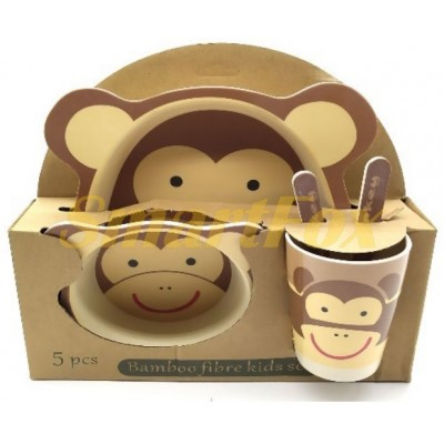 Набор детской посуды (бамбуковое волокно) SL-246-35