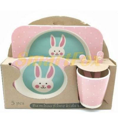 Набор детской посуды (бамбуковое волокно) SL-246-38