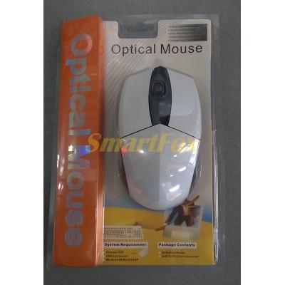 Мышь проводная полноразмерная MA-93 Белый
