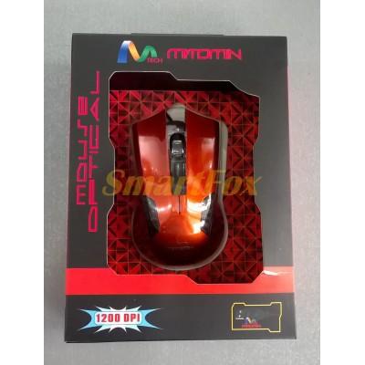 Мышь проводная игровая MT-C36 Красный