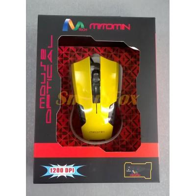 Мышь проводная игровая MT-C36 Желтый