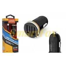 АЗУ 2USB LDNIO DL-C22I + кабель USB/IPHONE 5