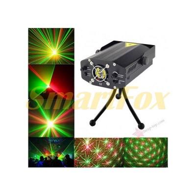 Проектор лазерный Mini Laser Stage Lightning (без обмена, без возврата)